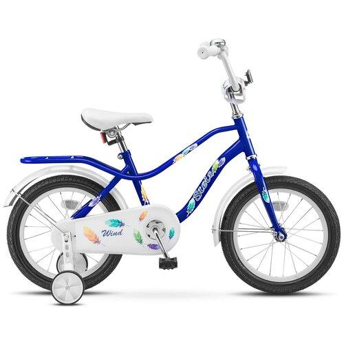 детский велосипед yibeigi v 14 синий Детский велосипед STELS Wind 14 Z010 (2018) синий 9.5 (требует финальной сборки)