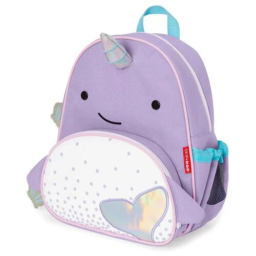 Купить SKIP HOP Рюкзак Zoo Narwhal, фиолетовый, Рюкзаки, ранцы