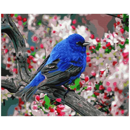 Купить Картина по номерам Paintboy, GX23193 Птица в саду 40х50см, Картины по номерам и контурам