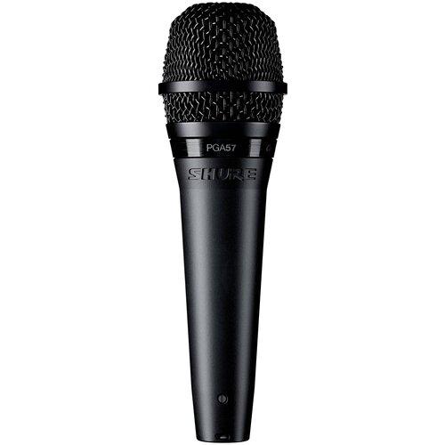 SHURE PGA57-XLR Кардиоидный инструментальный микрофон с кабелем XLR -XLR