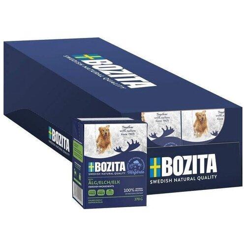 Влажный корм для собак Bozita Naturals, беззерновой, лось 16 шт. х 370 г