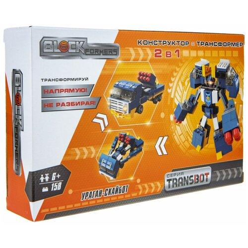 Купить Конструктор 1 TOY Blockformers Т19874 Ураган-Скайбот, Конструкторы