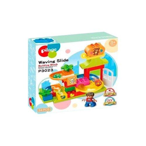 Конструктор Pilage Waving Slide P3023 Детские игрушки