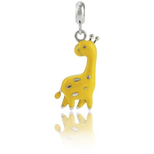 UMa & UMi Детский серебряный кулон подвеска Жираф UMI Pets 319554300620