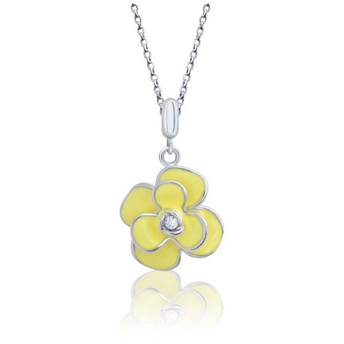 UMa & UMi Детский серебряный кулон подвеска Пион UMI Flowers 319554600605
