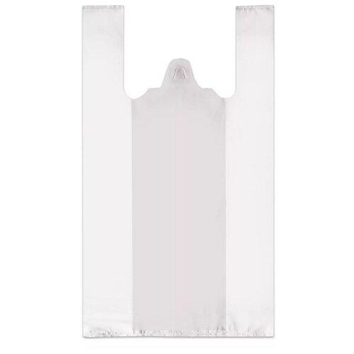Пакет-майка OfficeClean ПНД, 28х50 см, 12 мкм белый 100 шт.