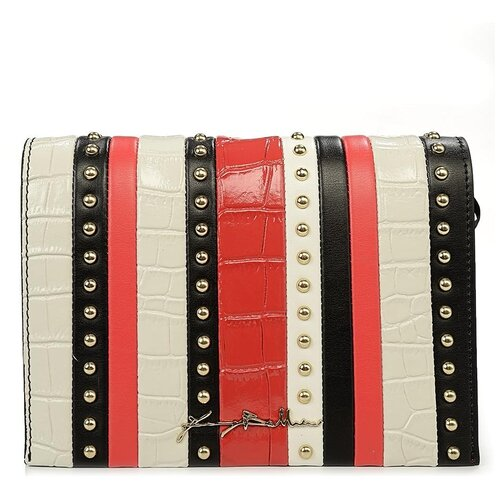 Сумка-клатч женская Baldinini G2APWG3M0052T21 black/white/red Elisa 00 недорого