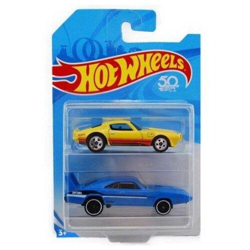 Купить Набор машинок Mattel Hot Wheels упаковка из 2-х штук, Машинки и техника