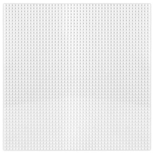 Купить Дополнительные детали Kazi Пластина-основание для конструктора 55002 40х40 см белая, Конструкторы
