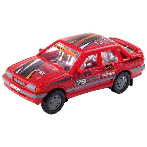 Купить Легковой автомобиль АВТОRus Ралли (172АР) 10.8 см красный, Машинки и техника
