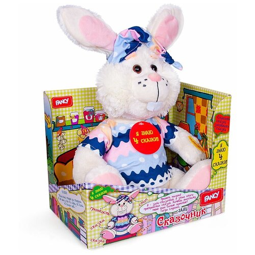 Заяц-сказочник, Dream Makers (игрушка интерактивная мягкая, ZSK01M)