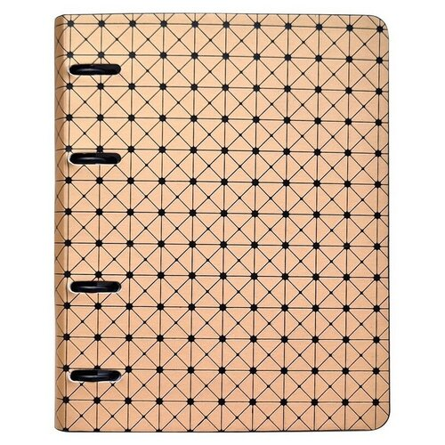 Купить Тетрадь со сменным блоком 120 л, А5, клетка, Geometric N1045, InFolio, Тетради