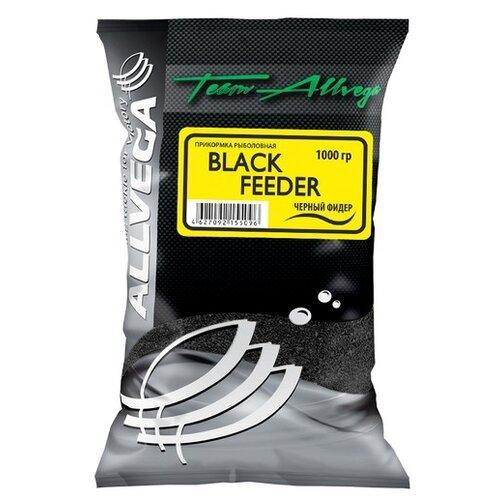 Прикормочная смесь ALLVEGA Team Allvega Black Feeder Черный фидер 1000 г