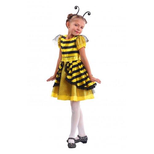 Купить Детский костюм 'Пчёлка', размер 104 см., пуговка, Карнавальные костюмы