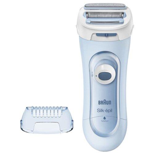 Электробритва для женщин Braun LS 5160 Silk and Soft Body Shave голубой