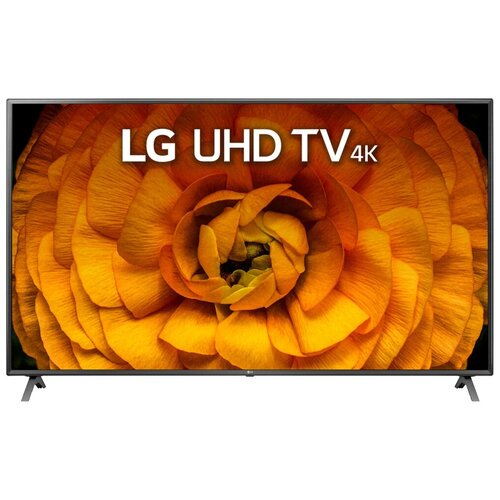 """Телевизор LG 86UN85006 86"""" (2020) серебристый/черный"""