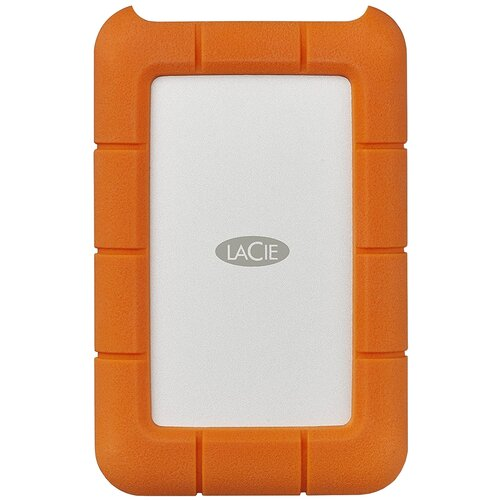 Фото - Внешний HDD Lacie Rugged USB-C 7200 rpm 2 TB, оранжевый lacie 2tb rugged mini 2 5 usb c
