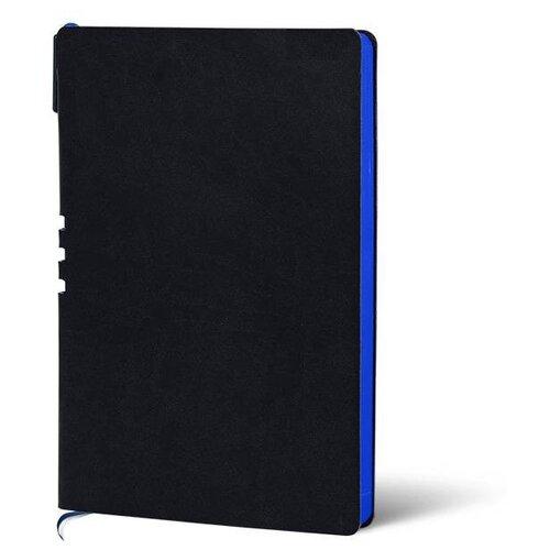 Купить Набор LOREX LXDRA5-CL, искусственная кожа, А5, 128 листов, черный/синий, Ежедневники, записные книжки