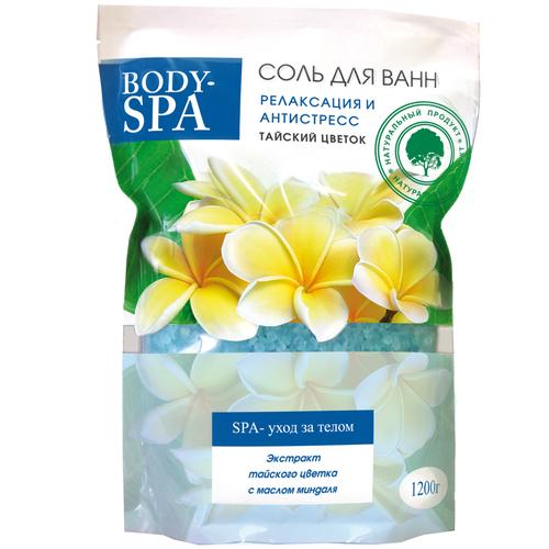 Северная жемчужина Соль для ванн Body-SPA Релаксация и антистресс, 1.2 кг