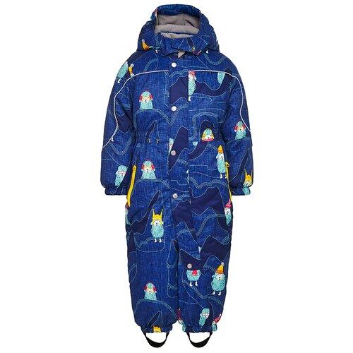 Фото - AAW203T1OV37 Комбинезон детский Лило 1-1,5 г размер 86-52 цвет синий комбинезон oldos тейлор размер 86 синий мятный