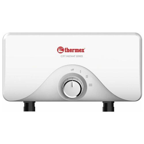 Проточный электрический водонагреватель Thermex City 3500, душ+кран