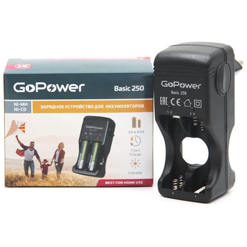 Фото - Зарядное устройство для аккумуляторов GoPower Basic 250 Ni-MH/Ni-Cd 4 слота messages 4 workbook cd rom