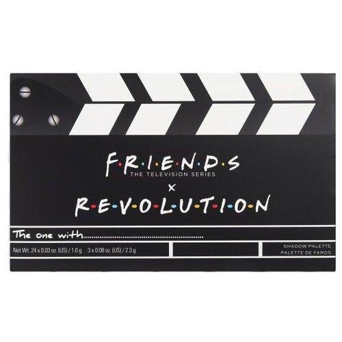 REVOLUTION Палетка для теней Friends Limitless Palette Friends Flawless