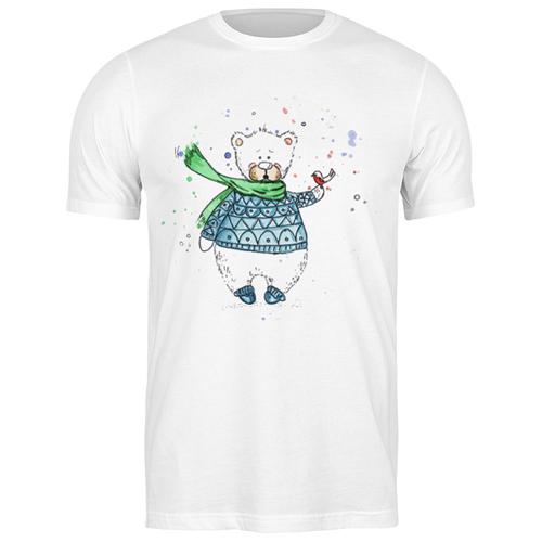 Футболка классическая Белый мишка #1910229 (цвет: БЕЛЫЙ, пол: МУЖ, качество: ЭКОНОМ, размер: 2XL)