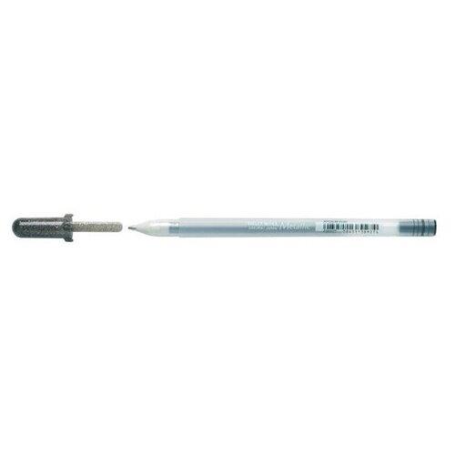 Фото - Ручка гелевая Sakura Gelly Roll Metallic Черный, толщина линии 0.4 мм ручка гелевая sakura gelly roll черная толщина линии 0 3мм
