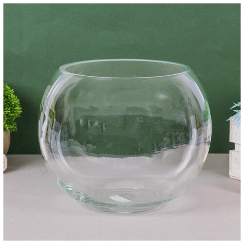 Фото - Ваза Шаровая d-14см 22х19см, 5л 1001570 ваза шаровая d 14см 22х19см 5л 1001570
