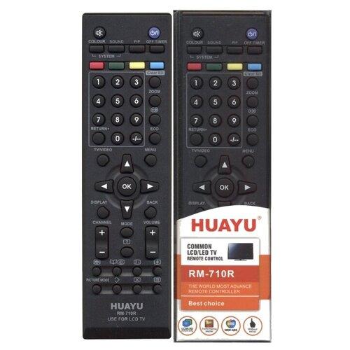 Фото - Пульт ДУ Huayu RM-710R для для телевизоров JVC, черный пульт ду для телевизоров jvc rm c1013