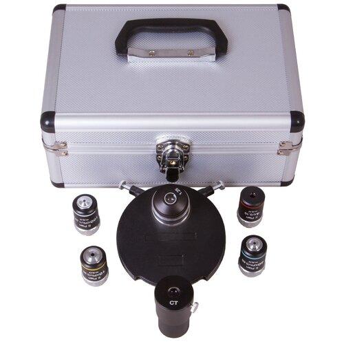 Фазово-контрастное устройство LEVENHUK MED 40 (светлое поле) 73375 черный/серебристый по цене 67 891