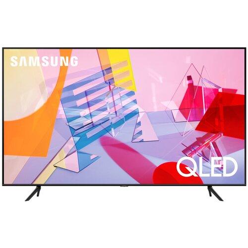 Фото - Телевизор QLED Samsung QE50Q67TAU 50 (2020), черный qled телевизор samsung qe49ls01tbu