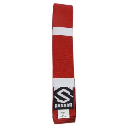 Пояс для единоборств BestSport 570, детский, красный, 210см