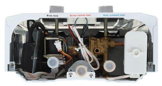 Проточный газовый водонагреватель Zanussi GWH 6 Fonte