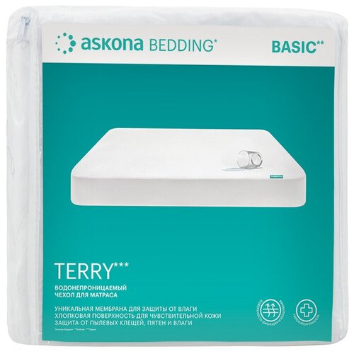 Защитный чехол на матрас Askona (Аскона) Terry 200*080 см матрас аскона balance forma 80x186