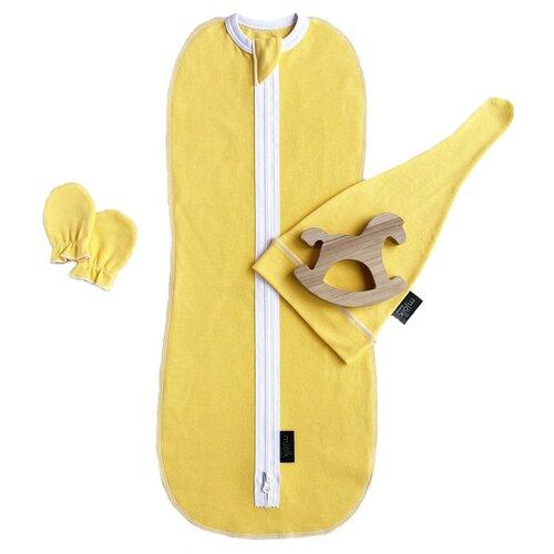 Купить Комплект Mjolk Minion Set желтый, Пеленки, клеенки