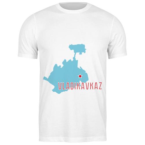 Футболка классическая Республика Северная Осетия — Алания. Владикавказ #2189405 (цвет: БЕЛЫЙ, пол: МУЖ, качество: ЭКОНОМ, размер: 3XL)