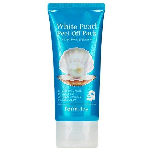 Купить Очищающая маска-пленка Farmstay White Pearl Peel Off Pack, 100гр