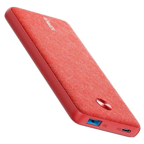 Аккумулятор ANKER PowerCore Sense 10000 PD Fabric, красный