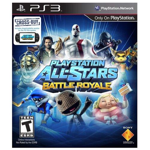 Игра для PlayStation 3 PlayStation All-Stars: Battle Royale, полностью на русском языке martin fisher j battle amongst the stars 3