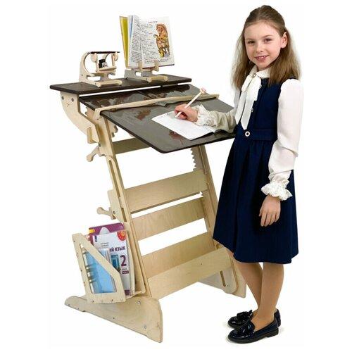 Купить Растущая парта «Гармония» для учебы стоя на рост 90-160 см, ЖивиСтоя, Парты и столы