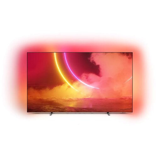 Фото - Телевизор OLED Philips 55OLED805 55 (2020), серебристый телевизор philips 50pus6654 50 2019 серебристый металлик