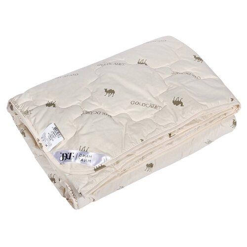 481022-о,Одеяло 220х205 Верблюжья шерсть ткань 100% хлопок, наполнитель верблюжья шерсть. подушки для беременных dream time подушка верблюжья шерсть 50х70 полиэстер