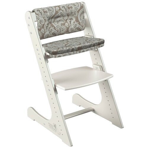 Фото - Растущий стул Конёк Горбунёк Комфорт цвет Слоновая кость в комплекте с подушками Арабика стульчики для кормления конёк горбунёк цветной однотонный