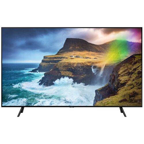Фото - Телевизор QLED Samsung QE65Q70RAU 65 (2019), черный qled телевизор samsung qe49ls01tbu