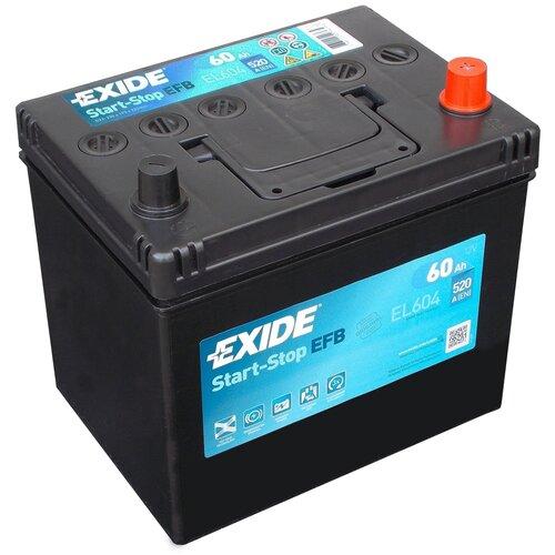 Автомобильный аккумулятор Exide Start-Stop EFB EL604
