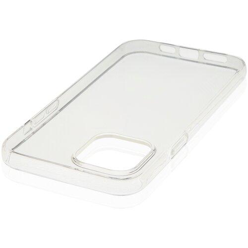 Прозрачный силиконовый чехол ROSCO для Apple iPhone 12 и iPhone 12 Pro (Эпл Айфон 12 и Айфон 12 Про)