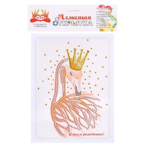 Купить Алмазная мозаика Color Kit Открытка, С Днем рождения! (AZ018)