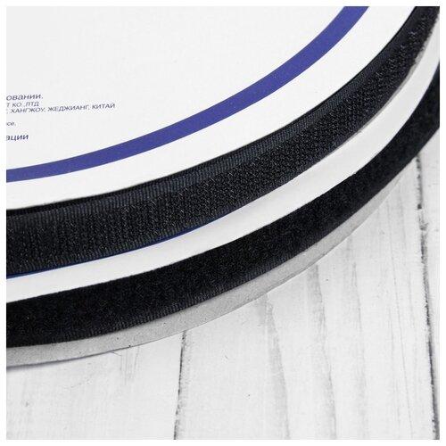Купить Липучка 16мм*25±1м черный LG Gamma 1183705, Технические ленты и тесьма